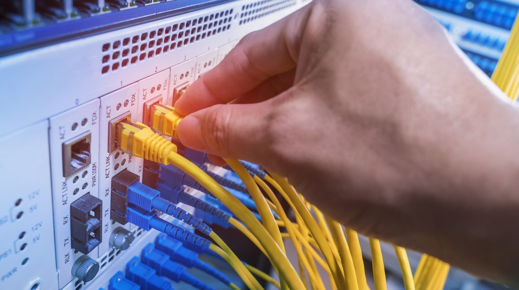 Netzwerktechnik perfekt umgesetzt durch Elektro König